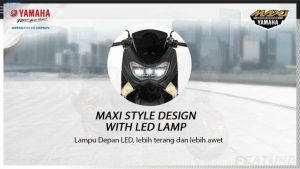 maxi style design with led lamp