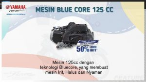 mesin blue core 125 cc