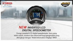 new lcd digital spedometer
