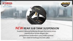 new rear sub tank suspension