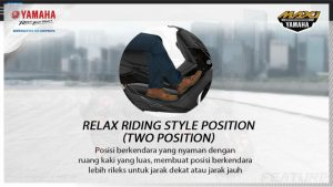 relax riding style