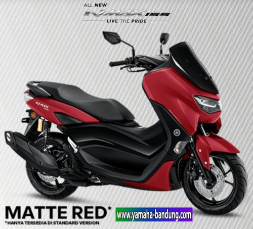 Nmax Matte Red